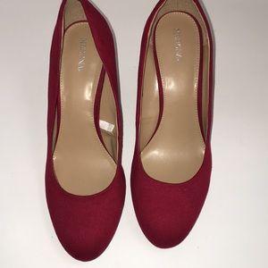 Red Merona Heels
